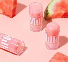 Milk Makeup: Watermelon Serum ⋆❁⋆ Floridian Forever Summer ⋆❁⋆ Milch Make-up: Wassermelonenserum Beauty Care, Beauty Skin, Beauty Makeup, Glossy Makeup, Skin Makeup, Milk Makeup Highlighter, Body Makeup, Makeup Case, Cute Makeup