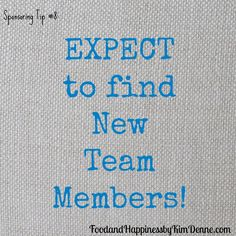 Open Pin for expanded tip. Expect to find new Team Members and they will appear! Tips for your Direct Sales or Party Plan Business.