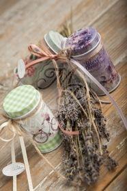Μένη Ρογκότη - Μπομπονιέρες βάπτισης για κορίτσι μεταλλικά κουτάκια με vintage διακόσμηση