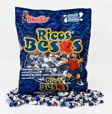 ¿Recuerdan estos dulces? PRETEXTO PARA DAR BESOS.