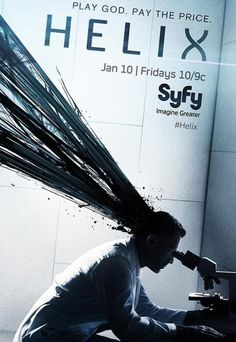 Helix tv show-- So far I'm hooked, they've got me super curious about what's all going on and the cinematography has been great, so many vivid and attention grabbing and visually arresting scenes