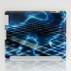 blue Energy iPad Case by DagmarMarina - $60.00