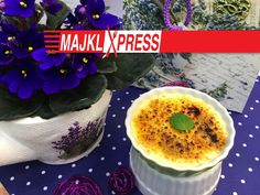 Majkl Express: Best and easiest crème brûlée recipe Brulee Recipe, Creme Brulee, Acai Bowl, Pudding, Breakfast, Easy, Recipes, Food, Youtube
