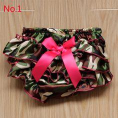 14 Colors Newborn Girl Satin Ruffle Short Pants Baby Kid Bowknot Bloomers S/M/L #Unbranded #GirlRufflePPPants