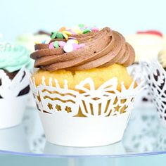 birthday themed cupcake wrappers! - check out the whole selection and more at giftsy.com.au!