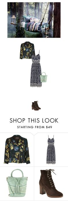 """Untitled #1761"" by hologrammar ❤ liked on Polyvore featuring PATH, River Island, Sea, New York, Steven by Steve Madden and John Lewis"
