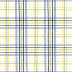 COUNTRY CLUB PLAID, Blue, W8303, Collection Signature Collection from Thibaut