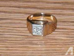 Men's Diamond Ring - $500 (Groveport)