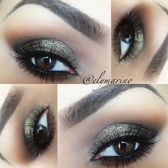 Smokey Browns with some sparkle perfect for a night out!!