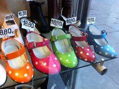 Flamenco shoes ready for the Feria!