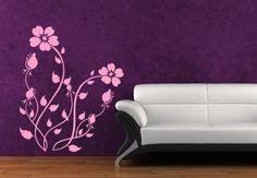 Wandgestaltung mit Wandtattoos - Flora Famosa | wall-art.de