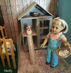 Living A Doll's Life : *Readers Photos* DIY Kit's Chicken Coop