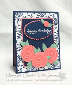 Well, I've now posted all my cards for the November 12th Christmas Card class, and while I'm away at Stampin' Up's event, I'm sharing some...