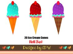 Digital Clip Art Pack  INSTANT DOWNLOAD  20 by DesignsbyAPW