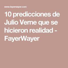 10 predicciones de Julio Verne que se hicieron realidad - FayerWayer