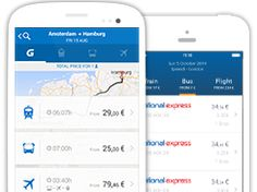 Start your European journey with one click. GoEuro makes it easy to compare and combine air, rail, bus and car for better pricing and easier booking.