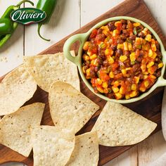 It's Superbowl Day! Tonight is all about having a good time with family, friends...and finger food! Touchdown guaranteed with our Black Bean Salsa!