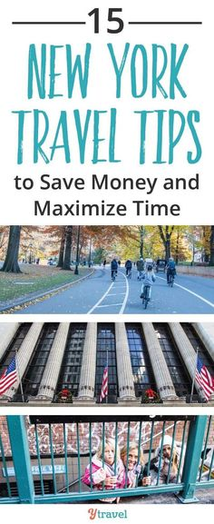 New york travel tips to save you money and maximise your time on your visit to NYC including tips on finding cheap food, saving on accommodation, and some great sightseeing tips