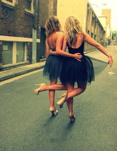 Tutus and drinks --> bachelorette party