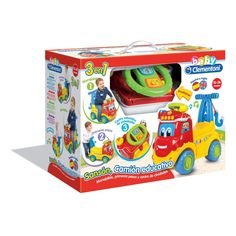 Juguete SANSON CAMION EDUCATIVO 3 EN 1 de Clementoni Precio 38,62€ en IguMagazine #juguetesbaratos