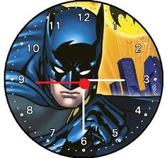 Batman Wall Decor Clock * Want additional info? Click on the image. (This is an affiliate link and I receive a commission for the sales)