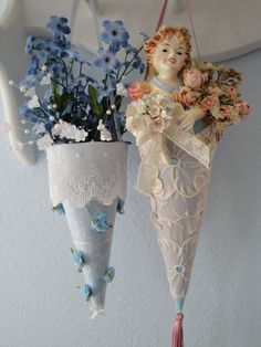Morning Glory Craft Cottage: Tussy Mussy Holders