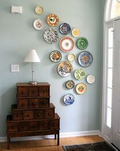 plates from thrift stores and garage sales