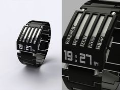 E-Ink for Time Telling | Yanko Design