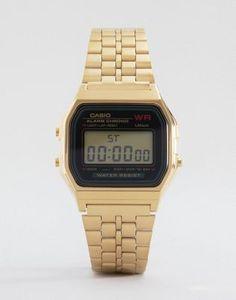Reloj digital dorado A159WGEA-1EF de Casio