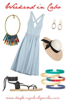 """""""CBA Weekend in Cabo"""" by dayle-burton ❤ liked on Polyvore"""