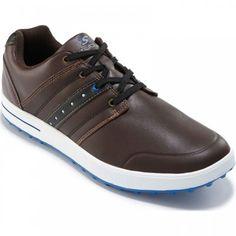 Adidas Golf TOUR360 impulso, los hombres zapatos, colores (blanco / oscuro
