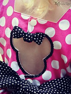 d4243bdff That's Sew Kari: Making Minnie Mouse - Candy Castle Princess Dress by Candy  Castle Patterns