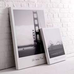 Personalised Giant Polaroid Canvas Print