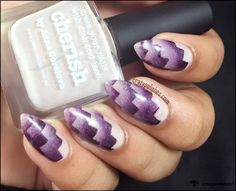"""Nail That Technique Challenge """"March"""" week 2-  Scaled Gradient"""