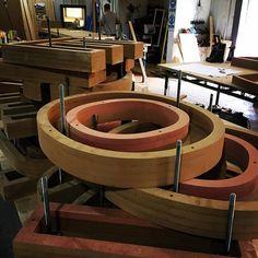 Letters in the workshop!  #woodworking #wood #workshop #craft #letters #alphabet…