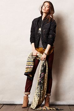 Kapital Bomber Jacket #anthropologie