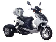 CMS 49cc Icebear Mojo Scooter | 3 Wheel Trike Moped - FREE SHIPPING for Sale ( MP 14018 )
