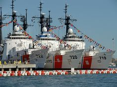 "I remember putting the ""sleek white needle of death"" (USCGC Morgenthau WHEC 722) back into the water, 23 years [okay, ""and counting...""] ago :-)"