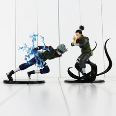 Get your Naruto Action Figures now! These figures are of Shikamaru Nara and Kakashi Hatake. These figures are a fantastic addition to any Naruto Fans collection Anime Naruto, Kakashi Naruto, Naruto Shippuden, Nara, Anime Figures, Action Figures, Figurine Naruto, Geeks, Naruto Merchandise