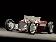 Custom 1929 Ford Roadster Pickup - Feature Vehicle - Rod and Custom Magazine - Hot Rod Hot Rods, Ford Motor Company, Classic Hot Rod, Classic Cars, Carros Hot Rod, Jaguar, Gt Turbo, Ford Roadster, Traditional Hot Rod