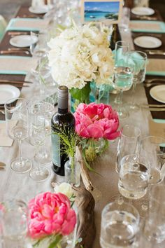 #tablescapes  Photography: Volatile Photography - volatilephoto.com Wedding Planning, Styling + Floral Design: lovely little details - lovelylittledetails.com  Read More: http://stylemepretty.com/2012/08/07/san-francisco-wedding-by-lovely-little-details/