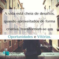 Novilei - Blog Imobiliário  #frases #oportunidades #imobiliaria #realestate #imoveis #desafios #novilei