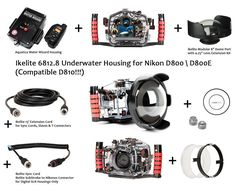 Ikelite 6812.8 Underwater Housing for Camera Nikon D800  D810 + Accessories! | Cameras & Photo, Camera & Photo Accessories, Underwater Cases & Housings | eBay!