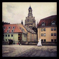 dresden #altstadtblick mit #frauenkirche