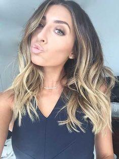 25 Meilleures Idées de Coupes Pour Cheveux Mi-longs | Coiffure simple et facile