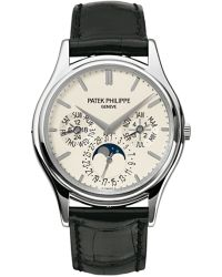 Patek Philippe Grand Complications  Automatic Men's Watch, 18K White Gold, White Dial, 5140G-001
