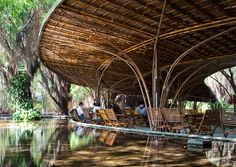 Stunning Bamboo Interiors: 10 Incredibly Intricate Sustainable Spaces
