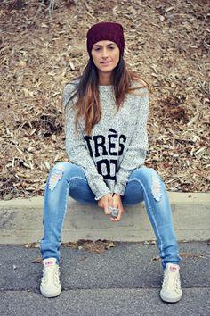 Heather-gray-knit-ardene-sweater
