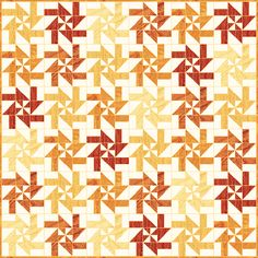 Sun Burst - Free Quilt Pattern - Layer Cake - Disappearing Pinwheel - Northcott…