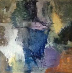 Kate Okholm: Acryl painting 80 x 80